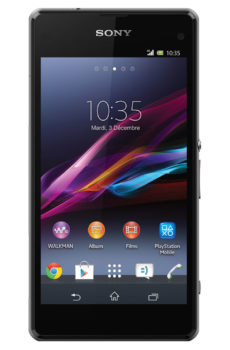 Xperia Z1 compact Montrouge